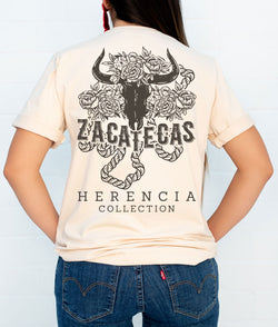 Zacatecas Country Short Sleeve Pocket Tee
