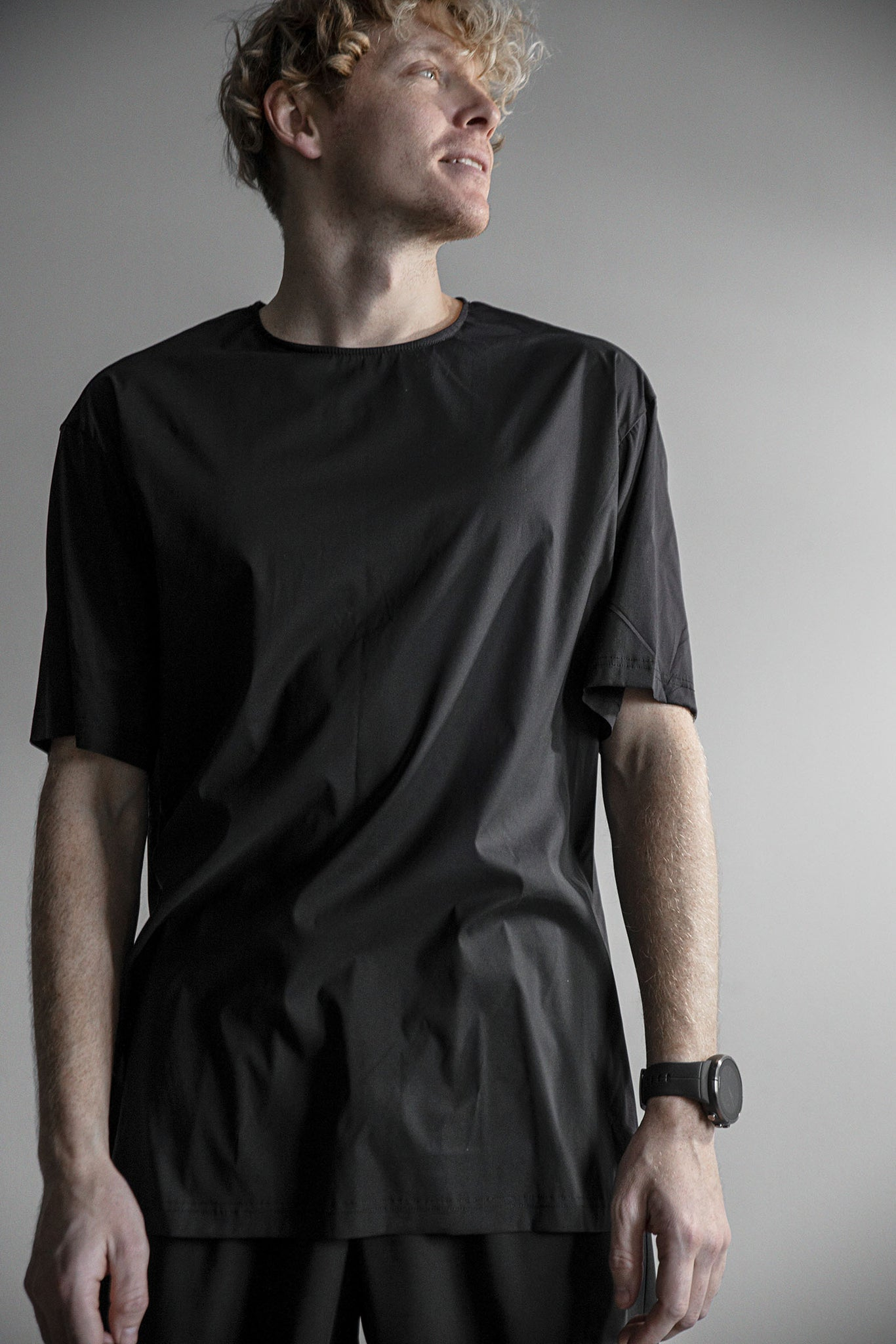 Loose fit t-shirt black