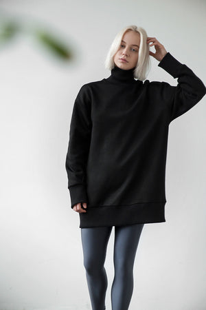 Oversized warm pullover