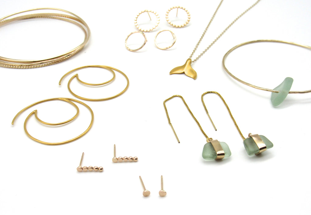 How to Care for Gold-Filled + Sea Glass Jewelry