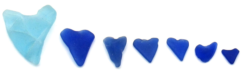 Rare Cerulean Sea Glass