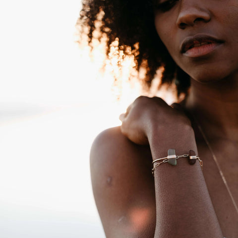 Satellite | Gold Bracelet-Ingrid Caduri Jewelry