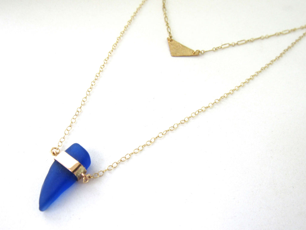 Tessa Sea Glass Necklace