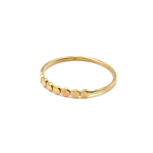 Glimmer | Dainty Gold Ring