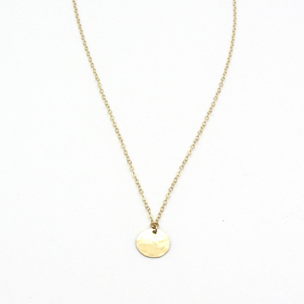 gold medallion coin necklace, dainty gold jewelry