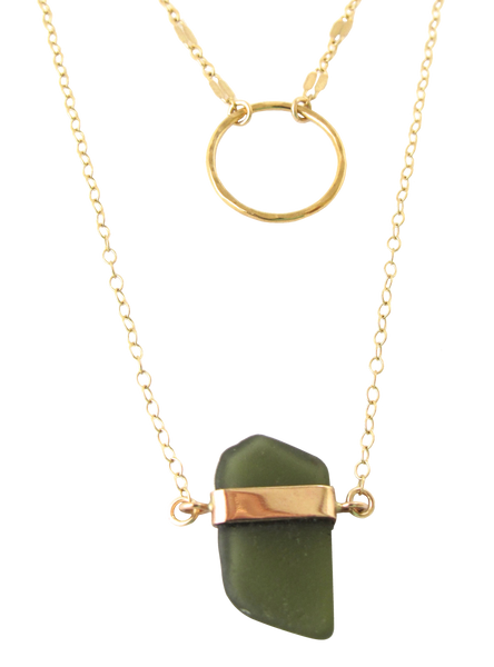 Sasha Sea Glass Necklace