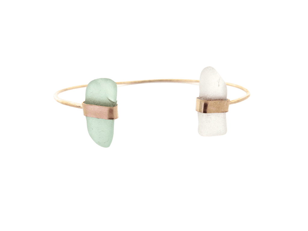 Ying Bracelet | White + Aqua (Ready to Ship!)