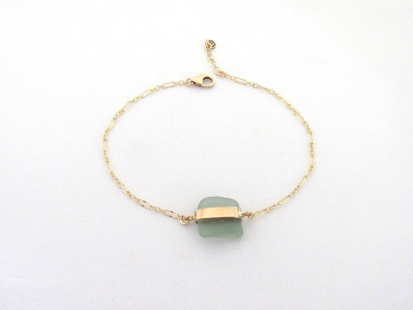 Molly Bracelet | Sage Green (Ready to Ship!)
