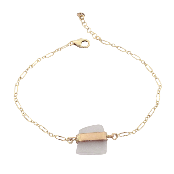 Molly Bracelet | Frosty White (Ready to Ship!)