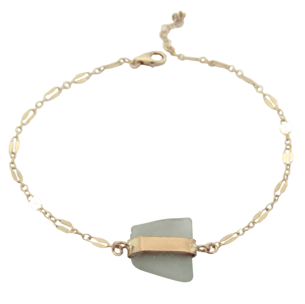 Molly Bracelet | Almost Sage  (Ready to Ship!)