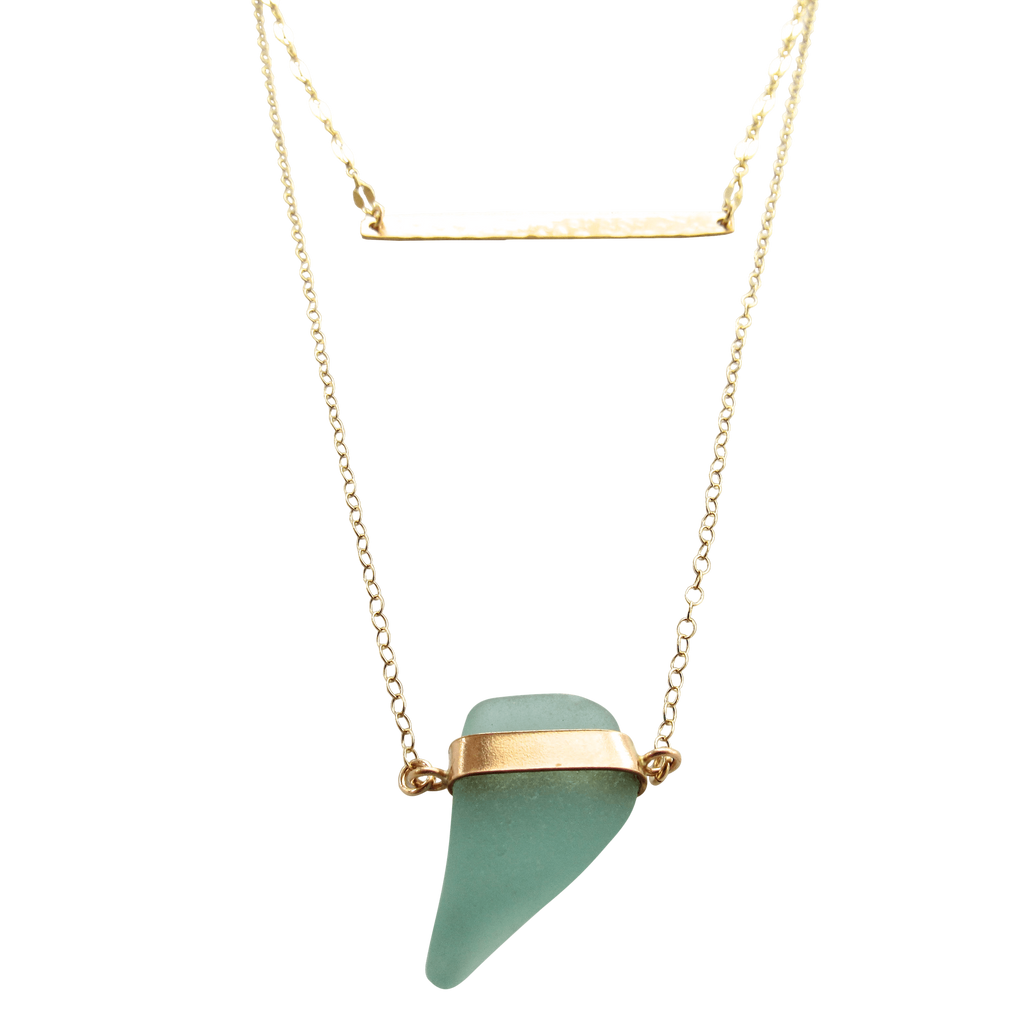 Limor Necklace | Aqua (Ready To Ship!)