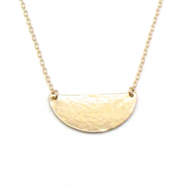 Half Sun | Gold Necklace