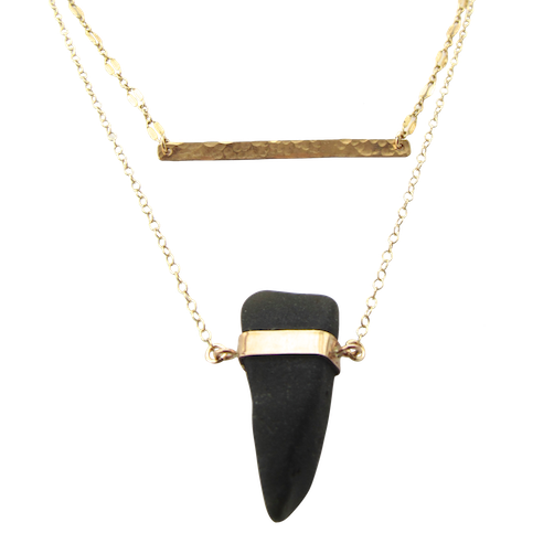 Limor Necklace | Midnight Black (Ready To Ship!)