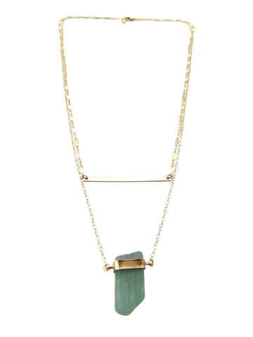 Limor Necklace | Light Turquoise (Ready To Ship!)
