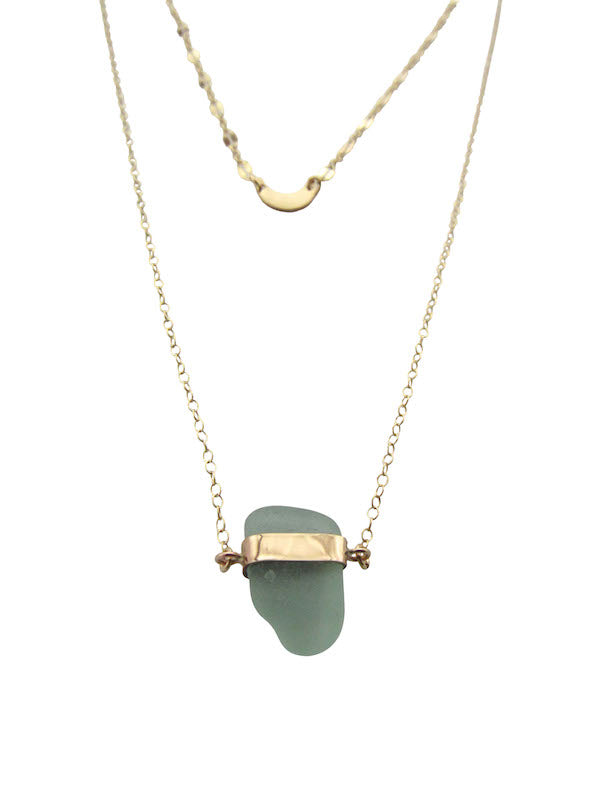 Sabrina Necklace | Sea Foam Green (Ready To Ship!)
