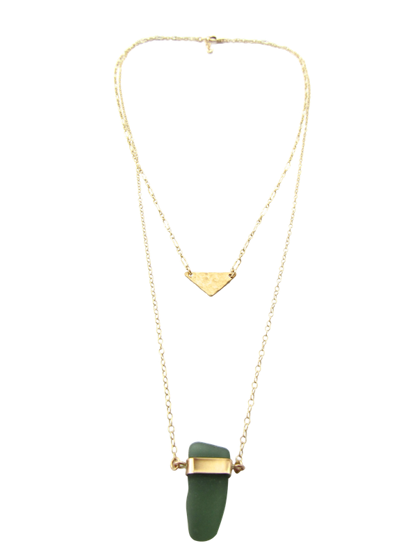 Tessa Necklace | Jade Green (Ready To Ship!)