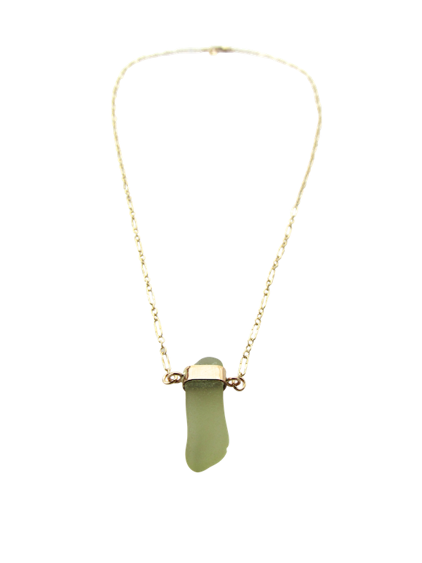 Kristen Necklace | Citrine Green (Ready To Ship!)