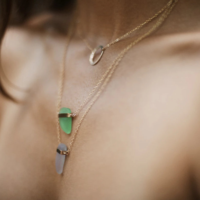 Robert Sea Glass Necklace