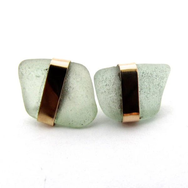 Kathy Sea Glass Earrings
