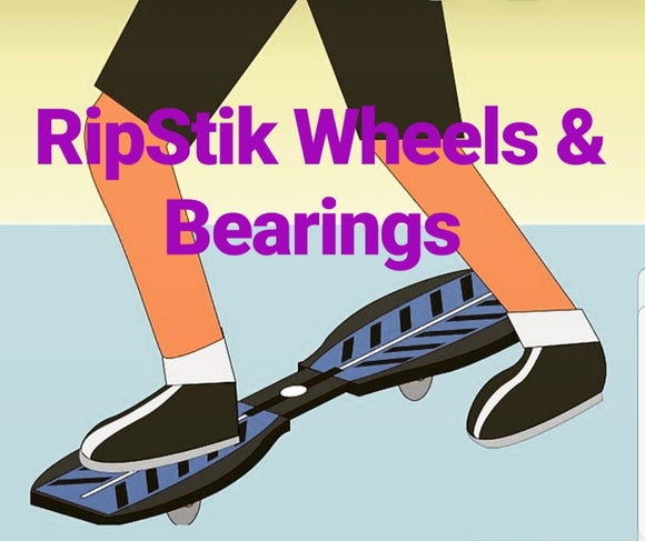 Ripstik Replacement Outdoor Wheels / RipStik RipSter Mini Wheels / 76mm & 68mm