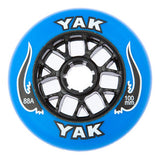 100mm rollerblade wheels, inline skate speed 8-Pack blue