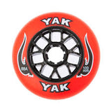 100mm rollerblade wheels, inline skate speed 8-Pack red