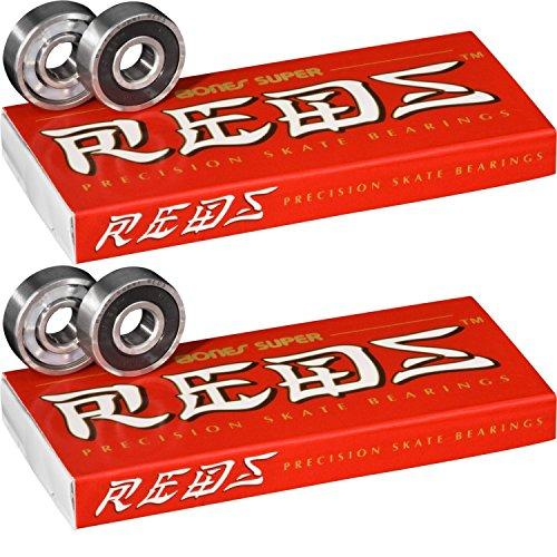 16 pack bones super reds skate bearings (std 608/8mm)