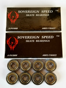 16 pack abec-7 skate bearings , skateboard/inline/roller/pro scooter