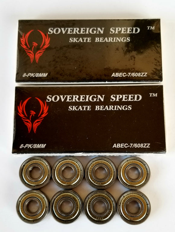 16 pack skate bearings 608zz 8mm