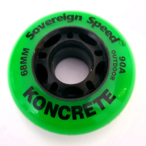 68mm outdoor inline skate wheels rollerblade roller hockey mini razor ripstik ripsters 90a hardness