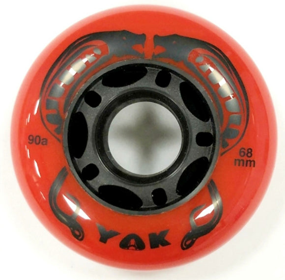 68mm Outdoor Inline Skate Wheels - asphalt aggressive hockey rollerblade