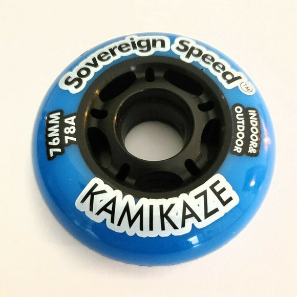 76mm 78a inline skate wheel, indoor outdoor rollerblade hockey