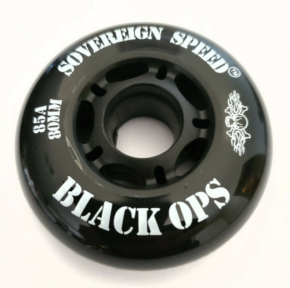 80mm outdoor inline skate wheel rollerblade roller hockey fitness ripstik 85a