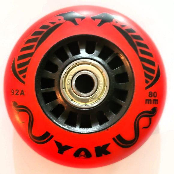 80mm Replacement Inline Skate Wheels, for Full Size RipStik, Micro Mini & Micro Maxi Kick Scooter