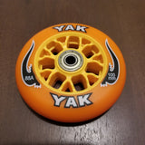 100mm scooter or inline skate outdoor wheels orange 88a