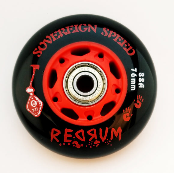 Outdoor Inline Skate Rollerblade Wheels with Bearings