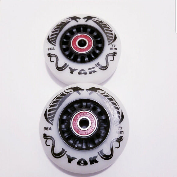 Outdoor Ripstik-Rollerblade Inline Skate Wheels 76mm 77mm 78mm 80mm 96A hardness