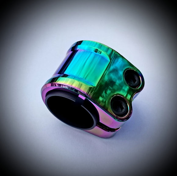 Neo Chrome Double Clamp Pro Scooter for oversized or standard