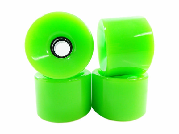 60mm 78A Pro Cruiser Longboard Skateboard Wheels blank green
