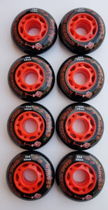 aggressive rollerblade wheels, outdoor 68mm