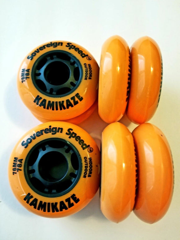 hi lo 76mm 80mm roller hockey wheels indoor outdoor rollerblade fitness