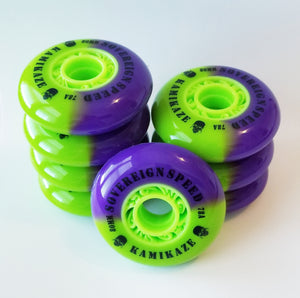 hi lo 72/76/80 roller hockey wheels indoor outdoor