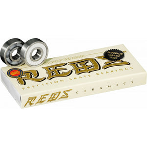 bones reds ceramic skate bearings 8mm / 608 standard size