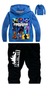 fortnite battle royale hoodie and pants, boys teens clothes