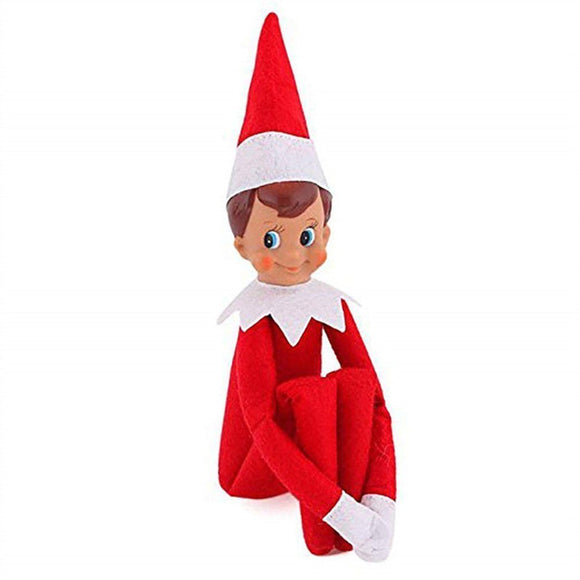the elf on the shelf blue eyed boy doll , a christmas tradition