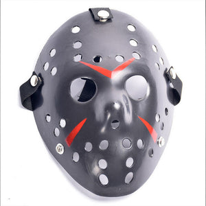 black friday the 13th jason voorhees halloween mask with strap