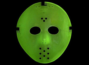 Jason Voorhees Friday the 13th Halloween Mask Glow-in-the-dark