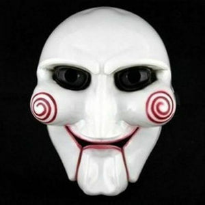 Jigsaw Halloween Mask, billy puppet saw movie
