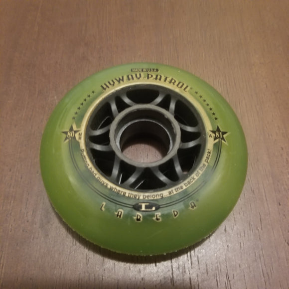 80mm 82a Labeda inline skate rollerblade hockey wheels