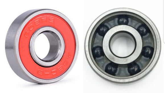 Si3N4 Ceramic Skate Bearing Chrome Steel Sealed ABEC-9 Bearings , skateboard small parts